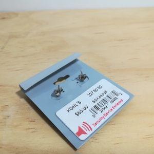 Swarovski Jewelry - Sterling silver dangle earrings with Swarovski Ele